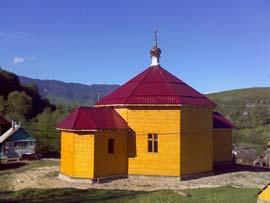 скит Сахрай - храм Иоанна Крестителя