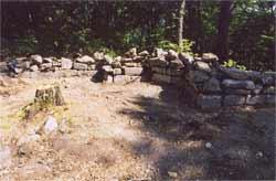 храм VI века на горе Афон