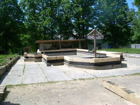 Фундамент Успенского храма