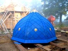 Купол на Успенский храм