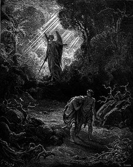 Прощеное воскресенье. Воспоминание Адамова изгнания.