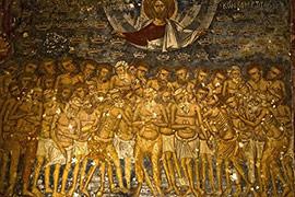 Страдания святых 40-ка мучеников Севастийских.