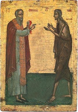 Неделя 5-ая Великого Поста. Преподобной Марии Египетской.