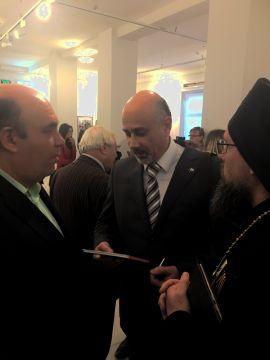 Игумен Герасим и Никос Василиу