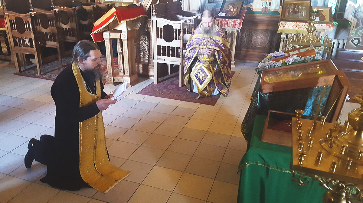 Башмачок святителя Спиридона Тримифунтского в обители