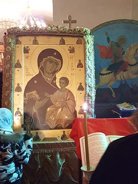 Встреча Иверской иконы Божьей Матери и мощей двенадцати апостолов. 03