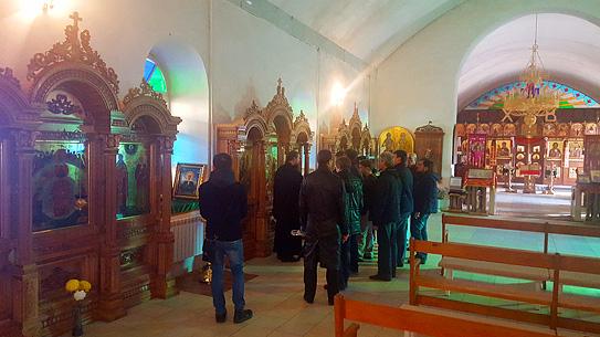 Визит хора Валаамского монастыря
