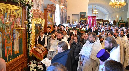 Престольный праздник монастыря