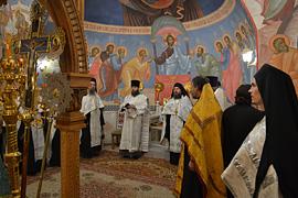 Престольный праздник монастыря. 05