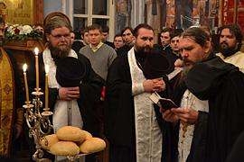 Престольный праздник монастыря. 09