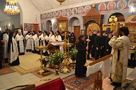 Престольный праздник монастыря. 16