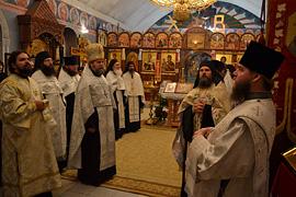 Престольный праздник монастыря. 19