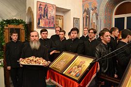 Престольный праздник монастыря. 21