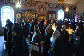 Престольный праздник монастыря. 30