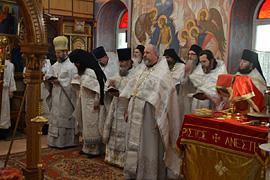Престольный праздник монастыря. 31