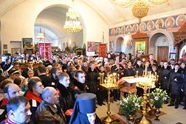 Престольный праздник монастыря. 34