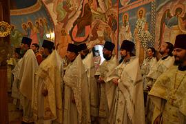 Престольный праздник монастыря. 38