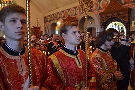 Престольный праздник монастыря. 42